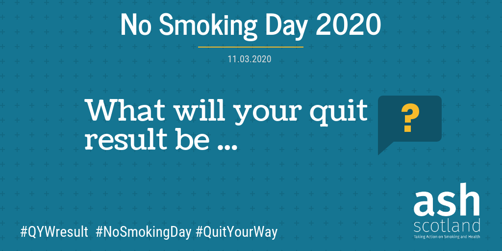 What will your quit result be banner